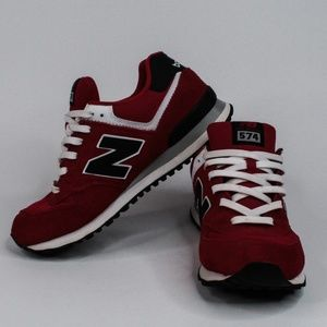 New Balance 574 Classic Encap Red Casual Shoe